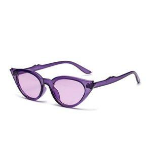 Accessories - NWT Double Fin Cat Eye Sunglasses Grape Purple